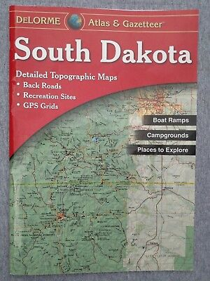 south dakota atlas gazetteer delorme atlas gazetteer