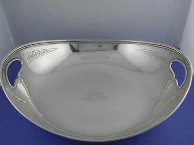 Sterling Silver TIFFANY & CO two handled Dish / Bowl ~ no.17066 ~ 13.43 troy oz