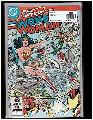 **SIGNED** JAN DUURASEMA Wonder Woman #300 (Feb 1983, DC) Volume 1 Key Issue