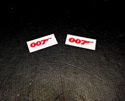 Corgi Juniors JAMES BOND 007 LOTUS ESPRIT    Set of 2 Bonnet stickers only