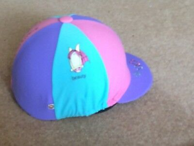 Competitor riding hat for children with covers