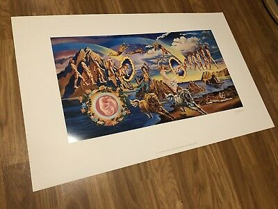 The Doors Full Circle Licensed Limited Edition Lithograph