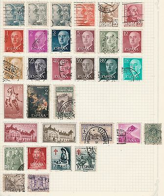SPAIN COLLECTION Red Cross, Basketball, Tanger,  etc removed to send #