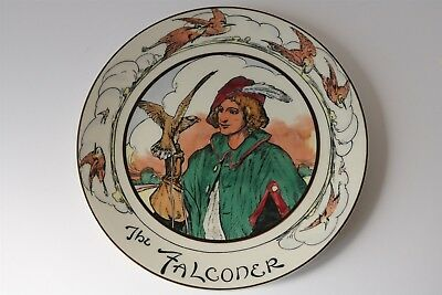 "Royal Doulton Professional Series Ware Plate 'The Falconer' 27cm / 10½"" - EUC"