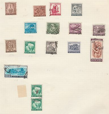 INDIA COLLECTION Politics etc on Old Book Pages,As Per Scan (NR) #