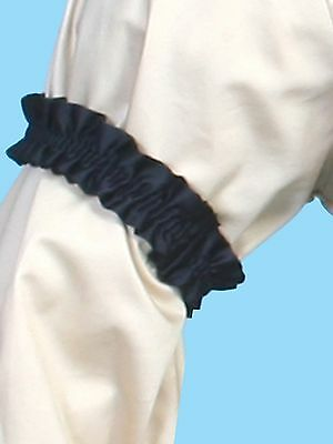 Men's Old West Kentucky  Arm Garters, Black, set of 2