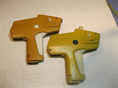 2 - Monarch Marking 1110 Price Label Gun Pitney Bowes - Parts or Repair