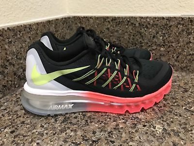 huge selection of 186d4 75e9f NIKE AIR MAX 2015 (GS) Black Lava Volt White 705457-