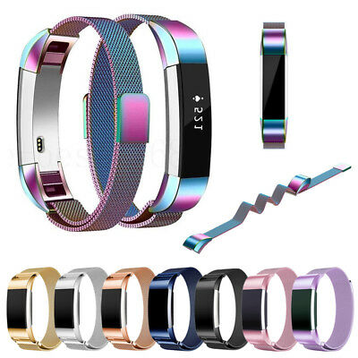 For Fitbit Charge 2 Replacement Stainless Steel Magnetic Loop Strap Wrist Bands