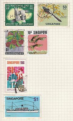 SINGAPORE COLLECTION Bird, Fish, National Day , etc removed to send #
