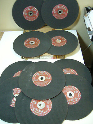 "(10) PARSONS 12'x1/6"" Special Speed Blades Masonry Abrasive Wheels BR9.SS ~NOS"