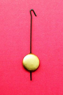 New small metal pendulum for miniature novelty key wound cuckoo clock.