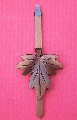 New genuine Black Forest hand carved cuckoo clock pendulum (Large),  (3)