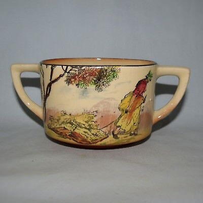 Royal Doulton Old English Scenes The Gleaners Quorn Shape Sugar Bowl