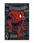 """Marvel Spider-Man #1 """"Torment"""" Rare Silver Cover Edition (Aug,1990)"""