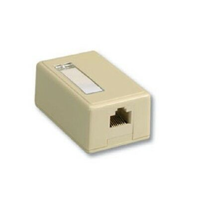 Ivory Leviton 40822-BI QuickPort Surface Mount Housing Bulk Packaged 2-Port