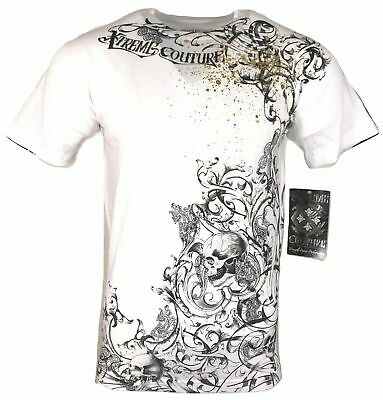XTREME COUTURE by AFFLICTION Men T-Shirt RIBBON Tatto Biker MMA UFC S-4X $40