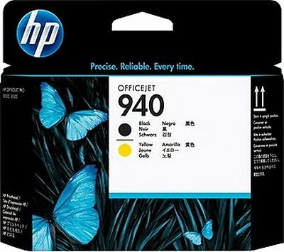 HP 940 C4900A Druckkopf black/yellow C4900 HP940 Officejet Pro 8000