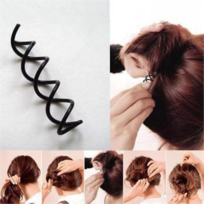 10Pc Hair Styling Tools Braiders Spiral Spin Screw Pin Hair Clips Twist Barrette
