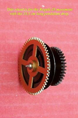 Regula chain ratchet wheel for the time side of the type 25 movement, ( 23.5 )