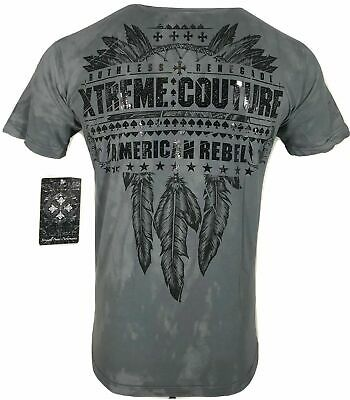 XTREME COUTURE by AFFLICTION Men T-Shirt LOST TRIBAL Biker MMA UFC S-4X $40