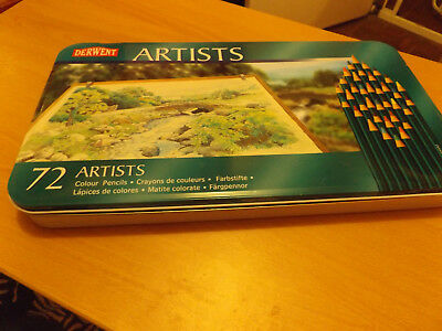 Closing Down Sale==Derwent Artists  72 Pencils Used Them 1 Time Only View.