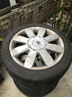 Renault Megane Rs 225 17x7.5 5x108 Wheels And Tyres