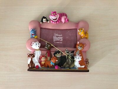 Disney Pets Cats 3D Resin Photo Picture Frame Cheshire Cat Aristocats