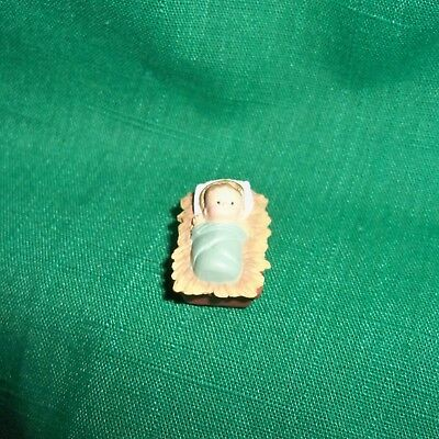 HALLMARK Merry Miniature NATIVITY Baby Jesus 1988