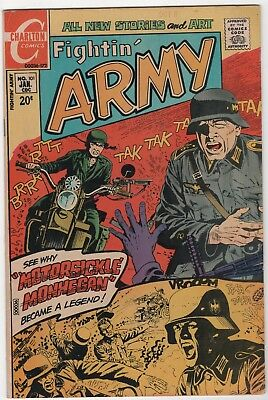 Fightin' Army  #101 In Very Fine/Near Mint 8.6 Condition (Jan, 1972, Charlton)