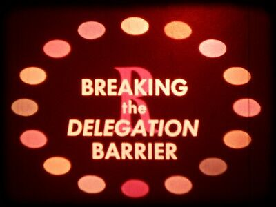 Breaking The Delegation Barrier 1968 16mm short film