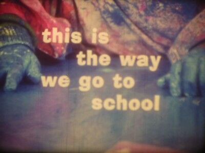 This Is The Way We Go To School 1972 16mm short film Documentary