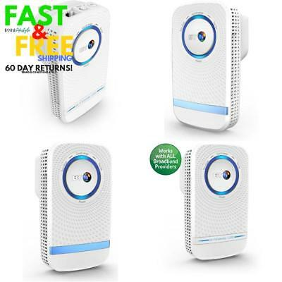 Bt 1200Mbps Wifi Booster Signal Extender Repeater Wireless Range Internet Plug