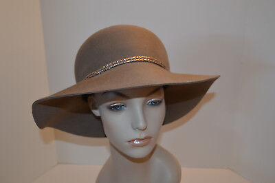 3ecef42e2086c EUGENIA KIM WIDE Brim Hat Silver Lasoo Tried On In Store Only Fab ...