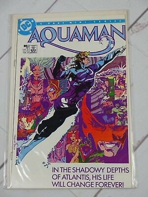 AQUAMAN #1 (1985) P. CRAIG RUSSELL OCEAN MASTER Bagged and Boarded - C2619