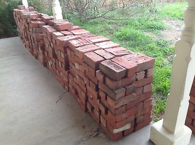 bricks,used,vintage/antique/old,red,cleaned e.g.City,Gamble,Glen Iris,Northcote