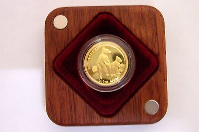 2011 Kangaroo Series Allied Rock Wallaby Ten Dollar 1/10 oz Gold Proof Coin