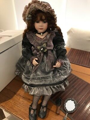 Limited Edition Gorgeous Large Charlotte Florence Collection Porcelain Doll 1999
