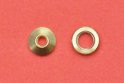Hubert Herr,  New cuckoo clock hand nuts, 2 pieces for KW 75 & KW 80 movements.