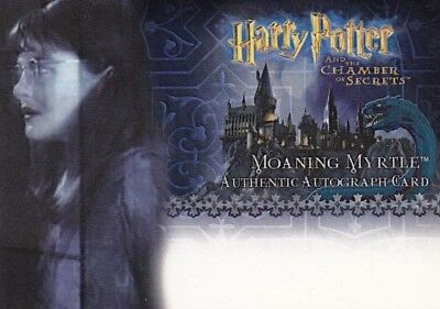 Harry Potter Chamber of Secrets CoS Shirley Henderson Unsigned Auto Card