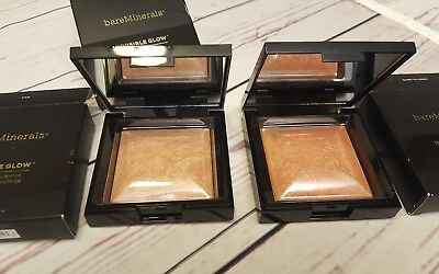 Bareminerals Invisible Glow Powder Highlighter Tan or Dark to Deep. NEW IN BOX