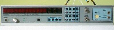 EIP548A 26.5 GHZ microwave counter FRONT PANEL