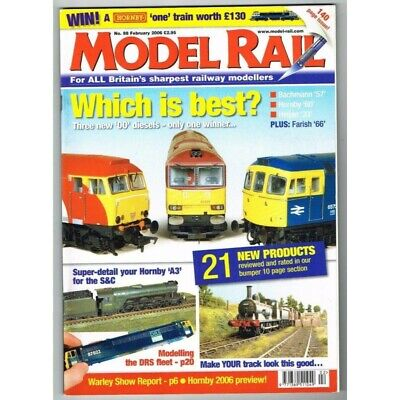 Model Rail Magazine No.88 February 2006 MBox3387/F Which is best? - Hornby 'A3'