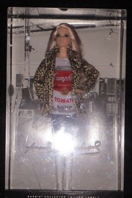 "Barbie dolls ""Andy Warhol"" collection, for the serious collector"
