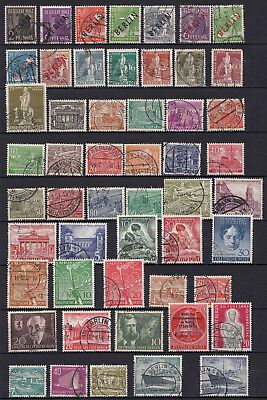 Germany Berlin Stamp Lot Fine Used From 1948/54 High Cv Opportunity (20858