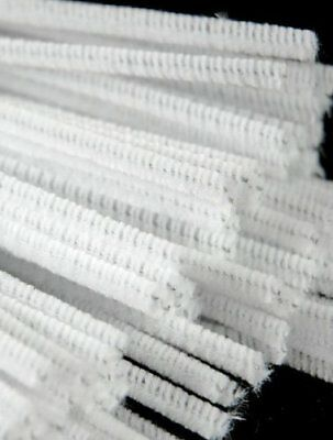 100 SOFT Smoking PIPE CLEANERS Extra Absorbent Fine Quality CHENILLE STICKS