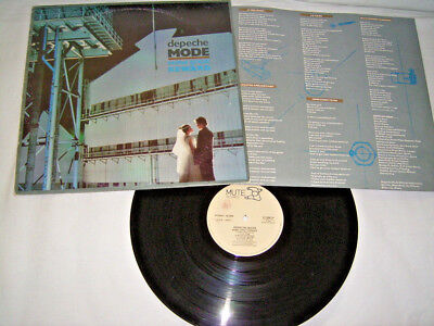 LP - Depeche Mode Some Great Reward - Italy 1984 OIS # cleaned - 2