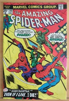 The Amazing SPIDER-MAN #149 1st Spiderman Clone (1975 MARVEL Comics) ~ NM Book