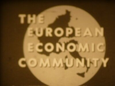 The European Economic Community (Common Market) 16mm short film 1965 B&W