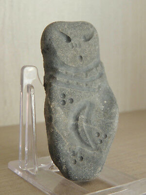 Antique Stone Idol Figure statuette,mother godess,fertility,god,alien,Astronaut